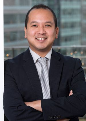 Ronnie Tan received praise from a case handler at NHS Litigation Authority