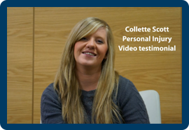 Still of Collette in the video