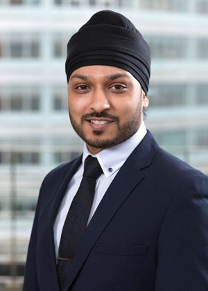 Headshot photo of Shaun Singh