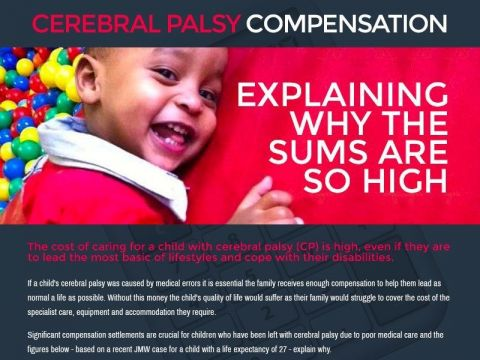 Explaining Why Cerebral Palsy Compensation is So High